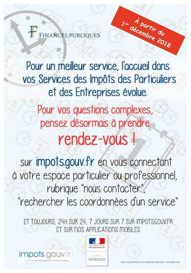 impots.gouv.fr rubrique contact